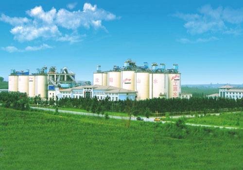 辽宁山水工源水泥厂工业设备清洗